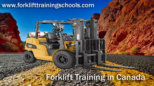 Forklift Training Schools in Canada